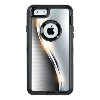 Funda OtterBox Defender Para iPhone 6 Diseño inoxidable de la onda