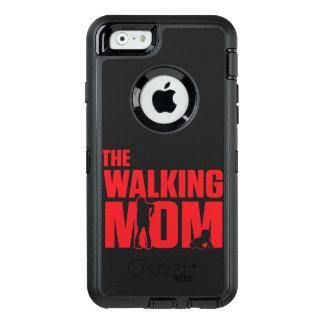 Funda OtterBox Defender Para iPhone 6 El retruécano divertido la mamá que camina bromea