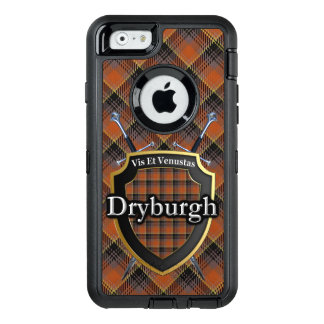 Funda OtterBox Defender Para iPhone 6 Espadas de Dryburgh del escocés y tartán del