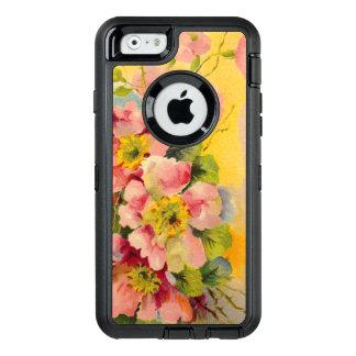Funda OtterBox Defender Para iPhone 6 Estampado de flores del vintage