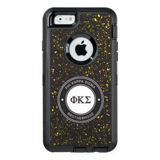 Funda OtterBox Defender Para iPhone 6 Insignia de la sigma el | de Kappa de la phi
