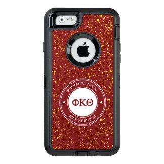 Funda OtterBox Defender Para iPhone 6 Insignia de la theta el | de Kappa de la phi