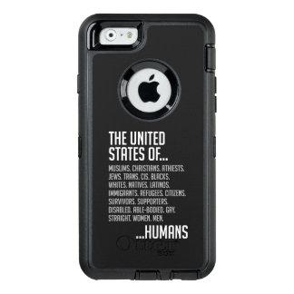 Funda OtterBox Defender Para iPhone 6 iPhone de Estados Unidos y caso de Samsung