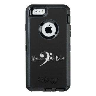 Funda OtterBox Defender Para iPhone 6 iPhone del dúo (bajo) y caso de Samsung Otterbox