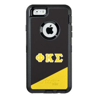Funda OtterBox Defender Para iPhone 6 Letras del Griego de la sigma el   de Kappa de la