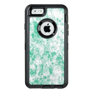 Funda OtterBox Defender Para iPhone 6 Malla de mármol verde