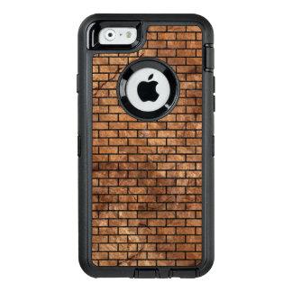 FUNDA OtterBox DEFENDER PARA iPhone 6 MÁRMOL BRICK1 Y BROWN NEGROS (R) DE PIEDRA