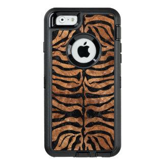 FUNDA OtterBox DEFENDER PARA iPhone 6 MÁRMOL SKIN2 Y BROWN NEGROS (R) DE PIEDRA