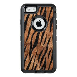 FUNDA OtterBox DEFENDER PARA iPhone 6 MÁRMOL SKIN3 Y BROWN NEGROS (R) DE PIEDRA