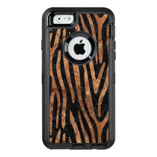 FUNDA OtterBox DEFENDER PARA iPhone 6 MÁRMOL SKIN4 Y BROWN NEGROS (R) DE PIEDRA
