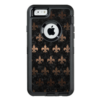 FUNDA OtterBox DEFENDER PARA iPhone 6 METAL NEGRO DEL MÁRMOL ROYAL1 Y DEL BRONCE (R)