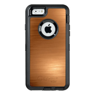 Funda OtterBox Defender Para iPhone 6 Mirada de cobre cepillada