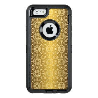 Funda OtterBox Defender Para iPhone 6 Modelo antiguo real de lujo floral