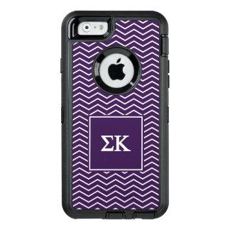 Funda OtterBox Defender Para iPhone 6 Modelo de Kappa el   Chevron de la sigma