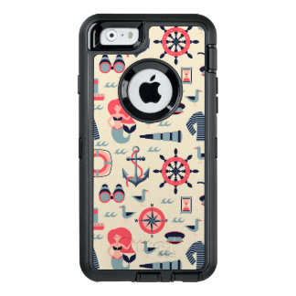Funda OtterBox Defender Para iPhone 6 Modelo de la vida marina