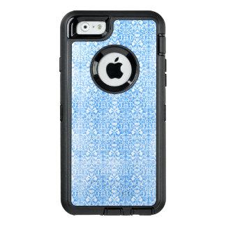 Funda OtterBox Defender Para iPhone 6 Modelo resistido damasco del azul de cielo