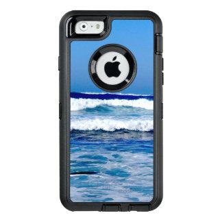 Funda OtterBox Defender Para iPhone 6 Océano Atlántico azul profundo agita en la playa
