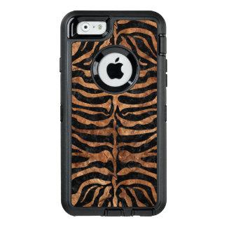 FUNDA OtterBox DEFENDER PARA iPhone 6 PIEDRA NEGRA DEL MÁRMOL SKIN2 Y DE BROWN