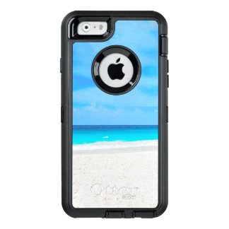 Funda OtterBox Defender Para iPhone 6 Playa tropical, agua de la turquesa