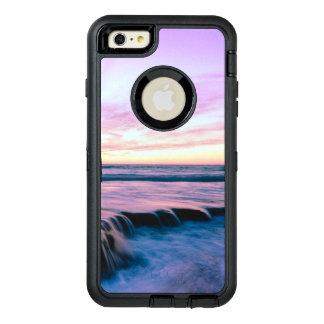 Funda OtterBox Defender Para iPhone 6 Plus Cascadas anaranjadas púrpuras de la piscina de la