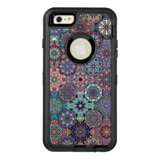 Funda OtterBox Defender Para iPhone 6 Plus Diseño abstracto colorido del modelo de la teja