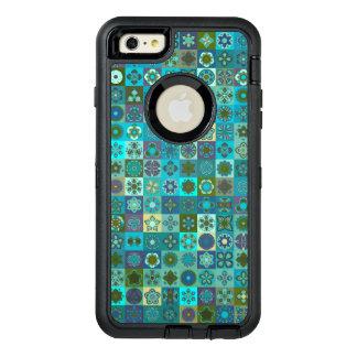 Funda OtterBox Defender Para iPhone 6 Plus Diseño floral del modelo del extracto de la