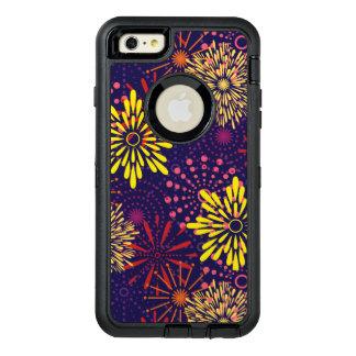 Funda OtterBox Defender Para iPhone 6 Plus Fuegos artificiales