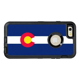Funda OtterBox Defender Para iPhone 6 Plus Gráfico dinámico de la bandera del estado de