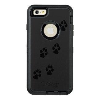 Funda OtterBox Defender Para iPhone 6 Plus Impresiones de la pata de un perro