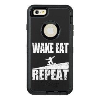 Funda OtterBox Defender Para iPhone 6 Plus La estela come la repetición #2 de la snowboard