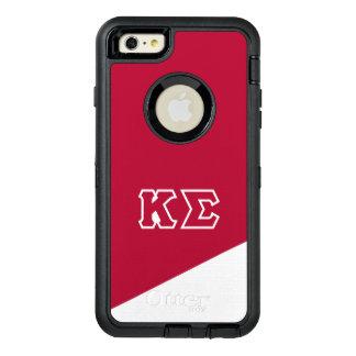 Funda OtterBox Defender Para iPhone 6 Plus Letras del Griego de la sigma el | de Kappa