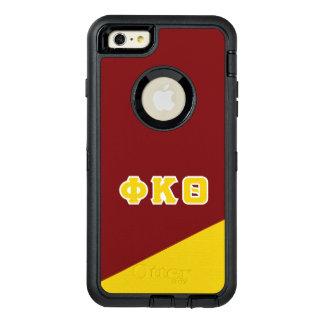 Funda OtterBox Defender Para iPhone 6 Plus Letras del Griego de la theta el | de Kappa de la