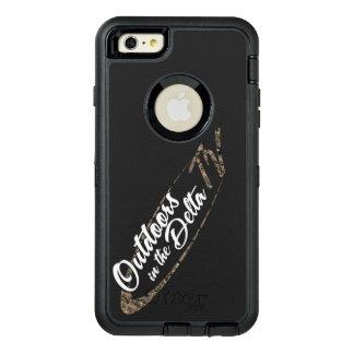 Funda OtterBox Defender Para iPhone 6 Plus Logotipo de Camo
