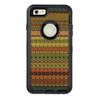 Funda OtterBox Defender Para iPhone 6 Plus Modelo azteca tribal del vintage