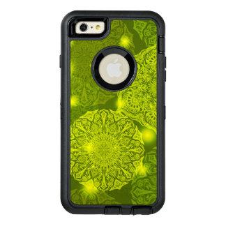 Funda OtterBox Defender Para iPhone 6 Plus Modelo de lujo floral de la mandala