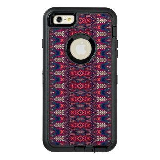 Funda OtterBox Defender Para iPhone 6 Plus Modelo floral étnico abstracto colorido de la