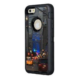 Funda OtterBox Defender Para iPhone 6 Plus NYC IPhone 6s más el caso de la nutria