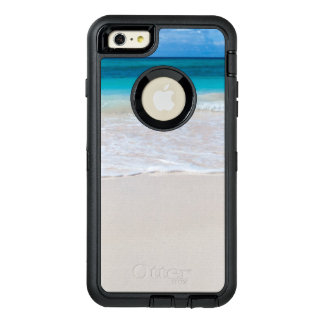Funda OtterBox Defender Para iPhone 6 Plus Playa y mar tropicales blancos