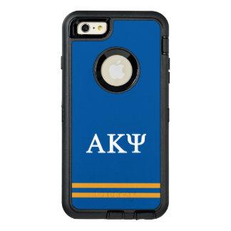 Funda OtterBox Defender Para iPhone 6 Plus Raya alfa del deporte de Kappa PSI el |