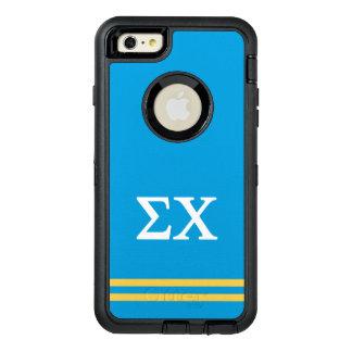 Funda OtterBox Defender Para iPhone 6 Plus Raya del deporte de la ji el | de la sigma