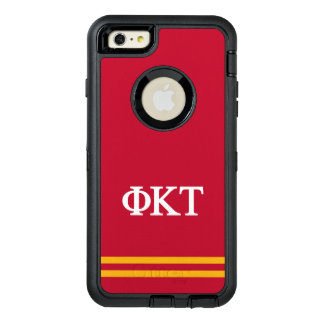 Funda OtterBox Defender Para iPhone 6 Plus Raya del deporte del Tau el | de Kappa de la phi