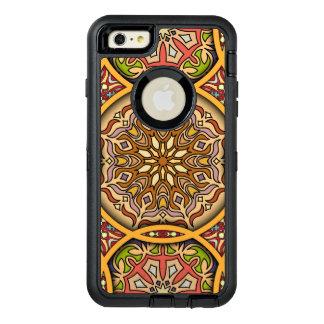 Funda OtterBox Defender Para iPhone 6 Plus Remiendo del vintage con los elementos florales de