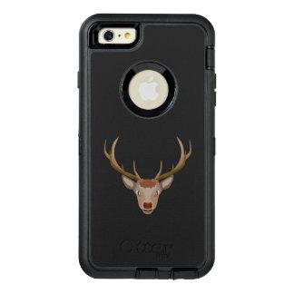 Funda OtterBox Defender Para iPhone 6 Plus Reno de las Felices Navidad