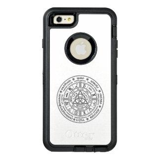 Funda OtterBox Defender Para iPhone 6 Plus Rueda pagana del año - caso del iPhone