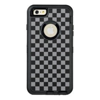 Funda OtterBox Defender Para iPhone 6 Plus Tablero de damas gris