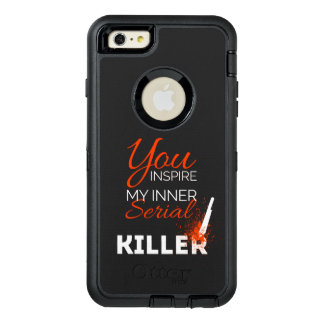 Funda OtterBox Defender Para iPhone 6 Plus Usted inspira a mi asesino en serie interno