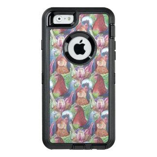 Funda OtterBox Defender Para iPhone 6 Pollos y vino