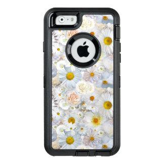 Funda OtterBox Defender Para iPhone 6 Primavera nupcial del boda floral del ramo de las