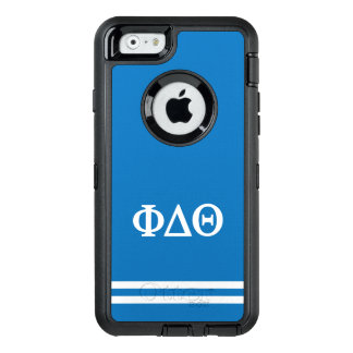 Funda OtterBox Defender Para iPhone 6 Raya del deporte de la theta el | del delta de la
