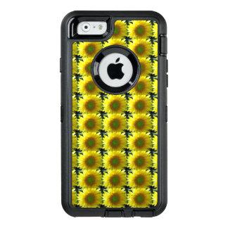 Funda OtterBox Defender Para iPhone 6 Repetición de los girasoles